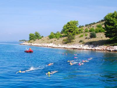Swimming in kornati blog small