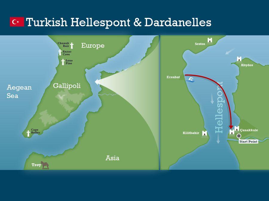 Hellespont and Dardanelles Swim  SwimTrek