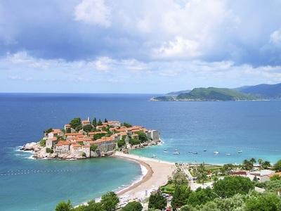 Montenegro fjords small